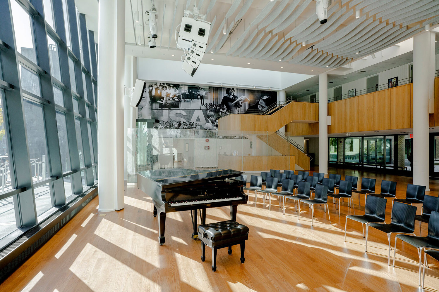 Harlem School of Arts Renaissance Project, Dorothy Maynor Hall. Herb Alpert called WSDG for acoustics.