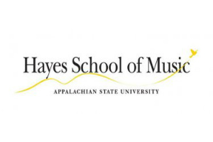 Hayes School of Music Logo - Appalachian University