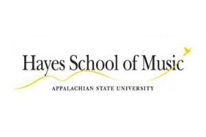 Hayes School of Music Logo - Appalachian University