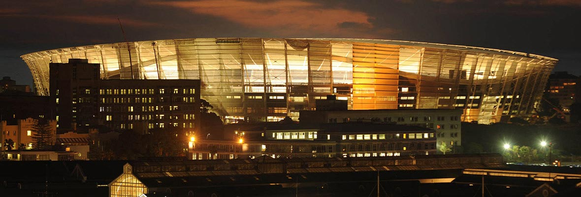 Greenpoint Stadium in Capetown, South Africa. Host of 2010 FIFA World Cup