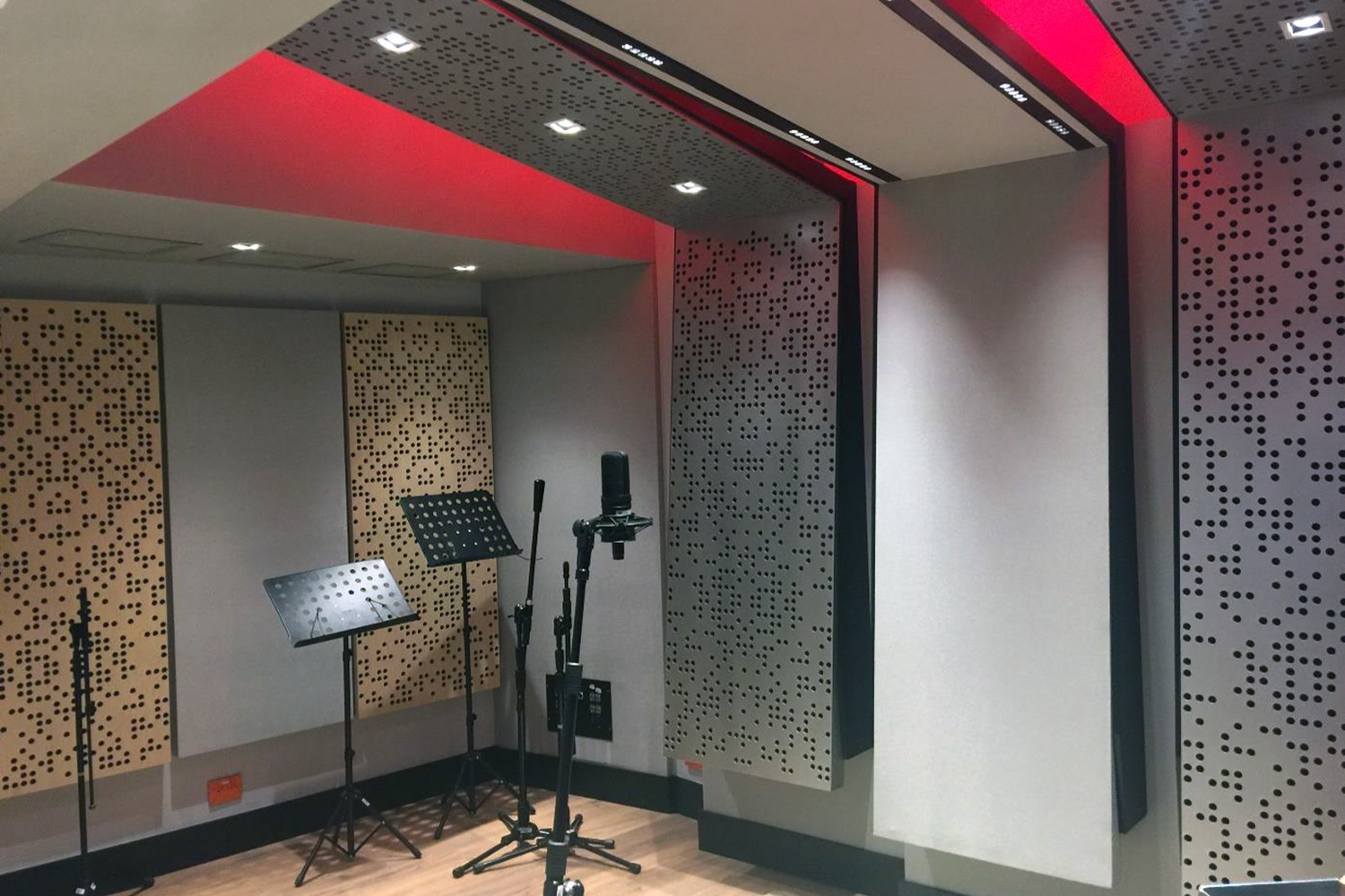 Universidad ICESI in Cali, Colombia commissioned WSDG to design their new music performance, composition and production building with world-class recording studios. Practice and Ensemble.