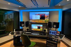 ICESI University new recording studio designed by WSDG. State-of-the-art facility in South America.