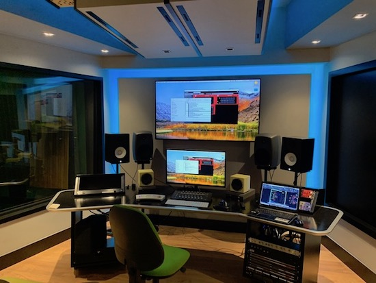 ICESI University new recording studio designed by WSDG. State-of-the-art facility in South America. Estudio 3 (Medios).
