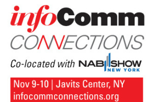 Infocomm, Infocomm Connections, Lecture, Exhibition, New York City, Javits Center, WSDG, Sergio Molho