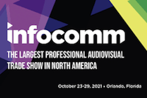 InfoComm Show 2021. Official Logo 1.