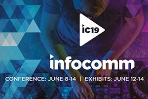 Infocomm Expo Show 2019 in Orlando, FL. Logo.