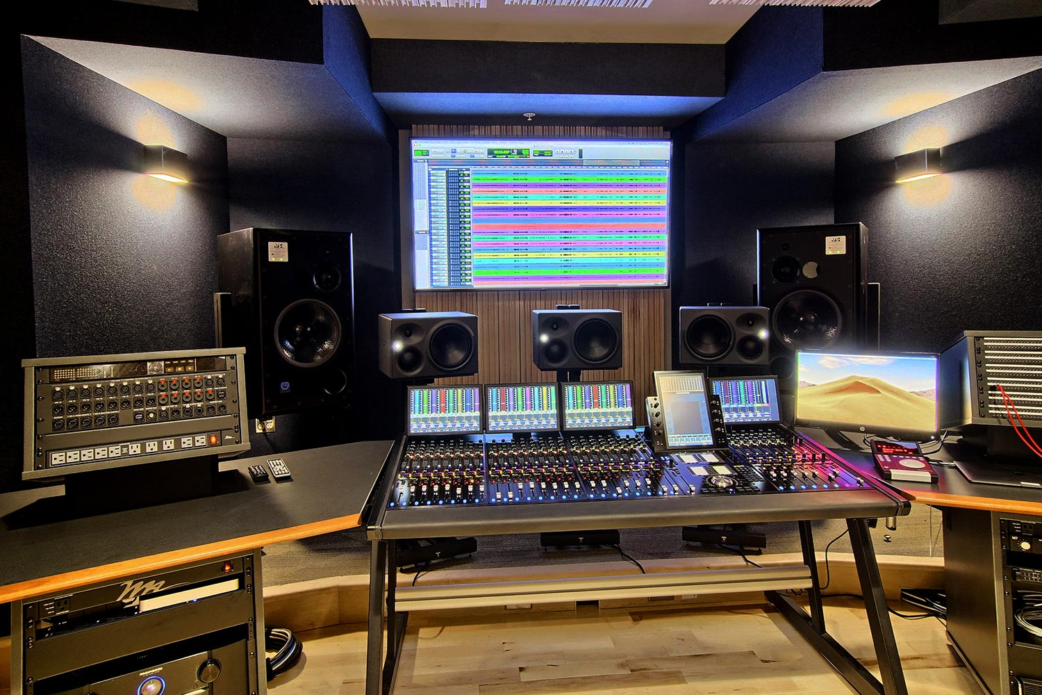 Interlochen has recently completed their new complex. A key component of the new complex is a state-of-the-art recording/teaching studio complex developed by WSDG. Second Floor Studio 2.