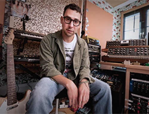 Jack Antonoff at Home in Brooklyn