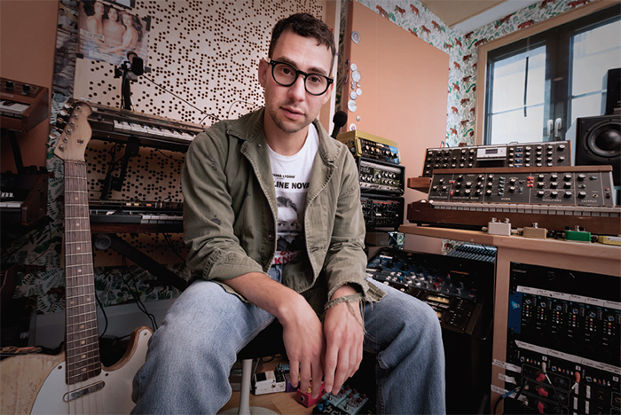 Jack Antonoff interview at his WSDG design recording studio in Brooklyn, NY with Tape Op magazine.