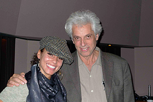 John Storyk Architect/Acoustician, Founding Partner WSDG with Legendary Artist Alicia Keys.