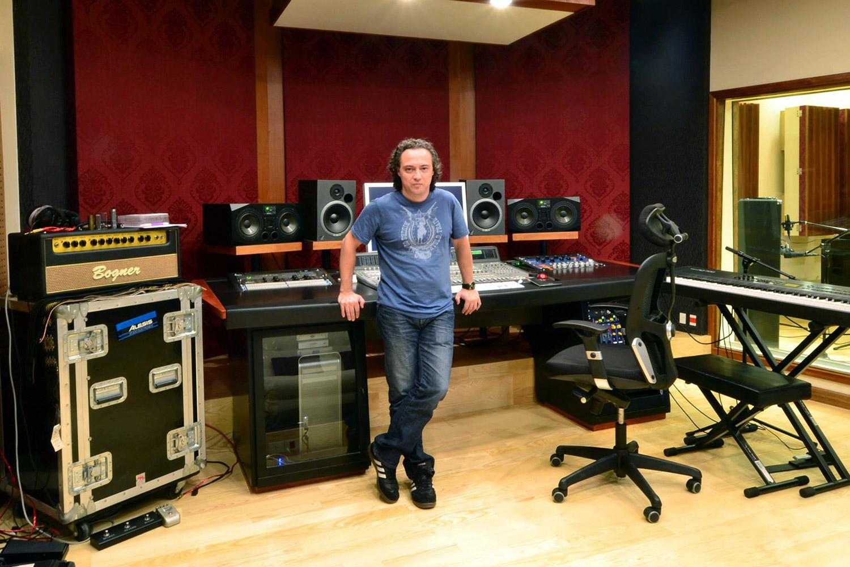 Jose Gentile home recording studio designed by WSDG in Cordoba, Argentina. Multi award producer Jose Gentile.