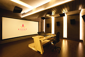 Envisioned as a major resource for India's thriving Bollywood film industry, KNACK Studios is the first world-class post-production complex in Eastern India. To provide clients with the ultimate facility design, the KNACK executive group retained global architectural/acoustic consultants, WSDG Walters-Storyk Design Group. Dolby Atmos Post-Production Suite