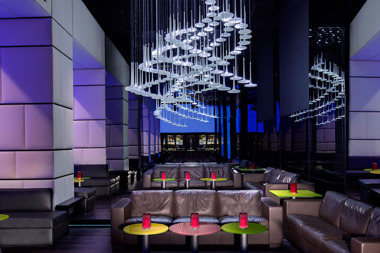 La Cigale, Doha's newest luxury hotel. WSDG performed a full acoustic makeover. Madison Piano Bar