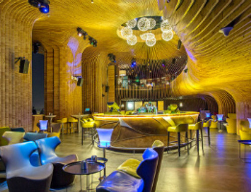 Noise Nearly Turned a Doha Hotel Lounge Into a Theme-Park Ride