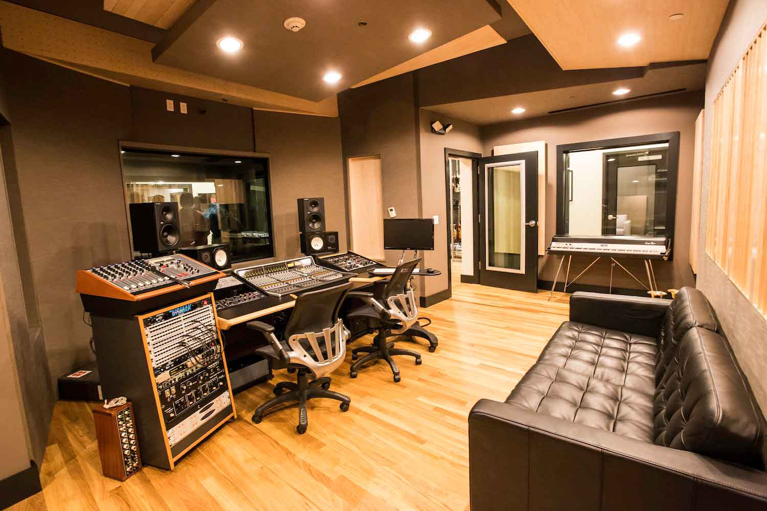 Awesome Recording Studio Design Archives Wsdg Largest Home Design Picture Inspirations Pitcheantrous