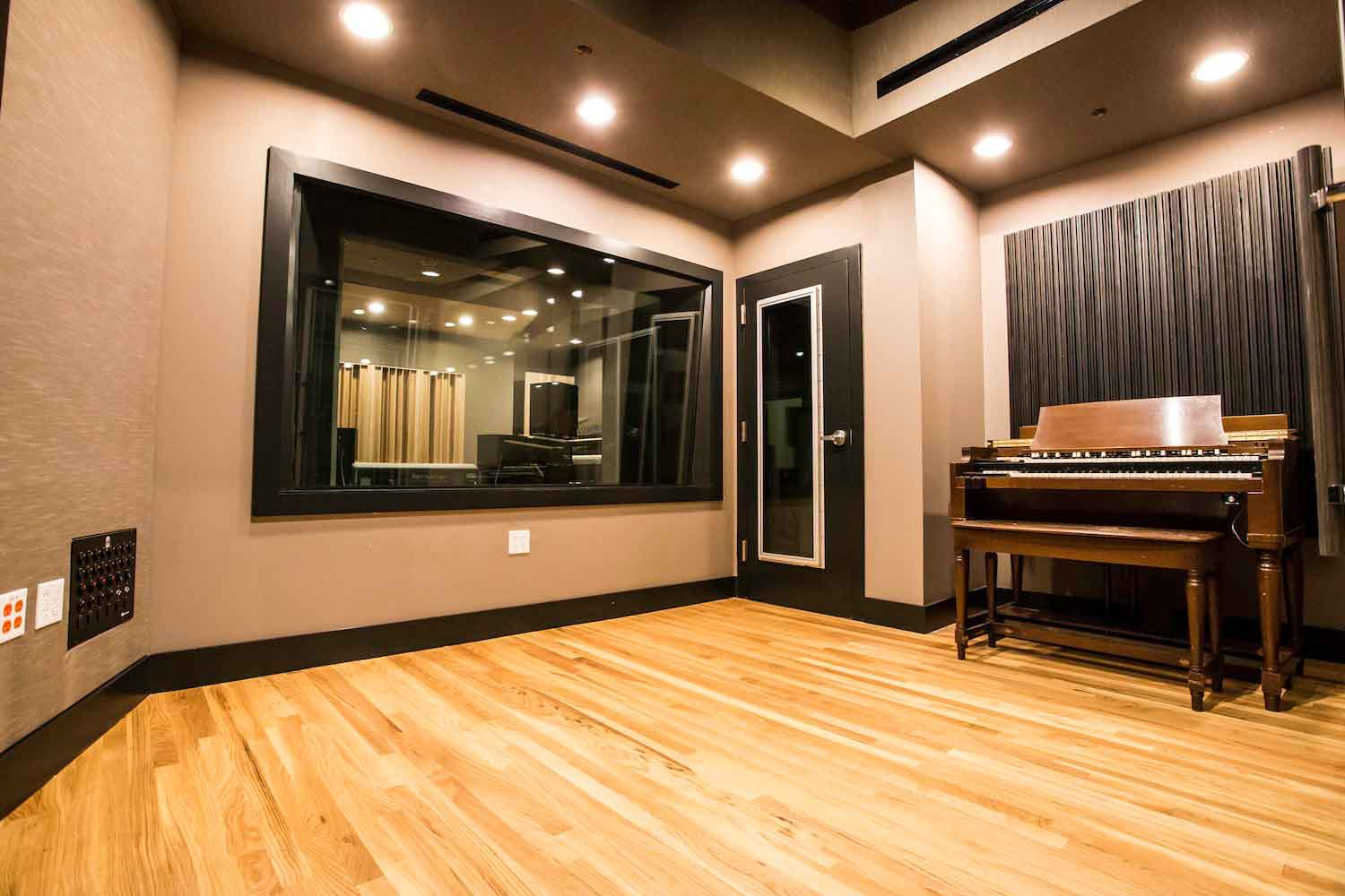 Lakehouse recording studios wsdg for Recording studio flooring