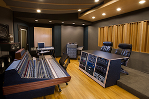 Producer/ songwriter Jon Leidersdorff commissioned WSDG to design his new Asbury Park based Recording Studios called Lakehouse Recording Studios. John Storyk is the best studio designer. Commercial recording studio. Great sounding rooms. Control Room North featured.