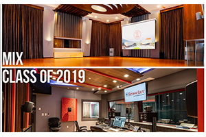 2 WSDG-designed studios featured at MIX Class of 2019. Zhejiang conservatory of music, and Rensselaer polytechnic institute (RPI). Best educational studios. Recording studios for colleges.