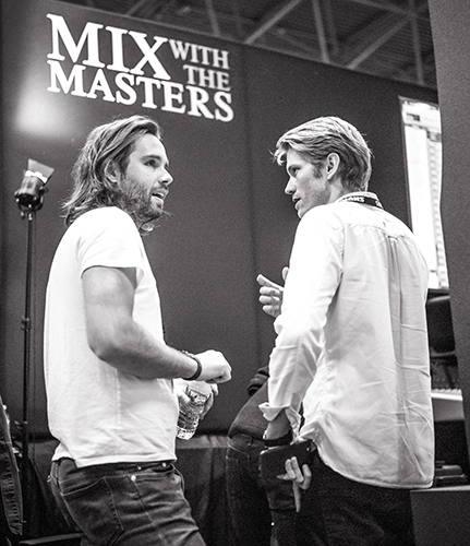 Maxime Le Guil and Victor Levy-Lasne, Mix with the Masters Founders.