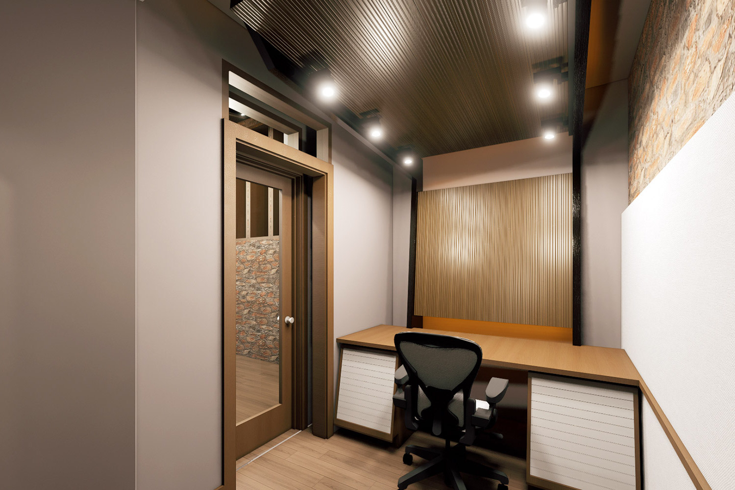 Mix with the Masters hired WSDG for the acoustic design and systems integration of their new recording studio complex in Paris, France. Suite A.