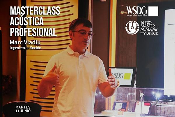 Marc Viadiu de WSDG estará dando una conferencia de acúsitca en Musiluz, Malaga el 11 de Junio.