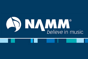 NAMM Logo. NAMM Music & Audio exhibition in California