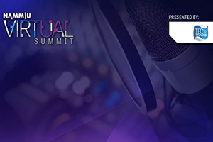 NAMM Virtual Summit 2020 Official Logo.