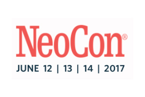 NeoCon 2017 Logo at The Mart, Chicago, IL