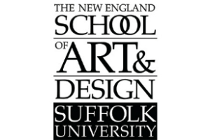 New England School of Art and Design, at Suffolk University, Boston, MA. Logo. WSDG/John Storyk Education Lectures