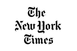The New York Times Logo. WSDG related news from the prestigious New York Times.