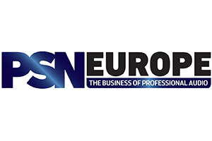 PSN Europe Official Logo. PSN Europe Online Magazine, the business of professional audio.