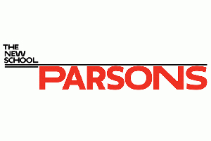 Parsons - The new school of art & design in New York City. Official Logo.