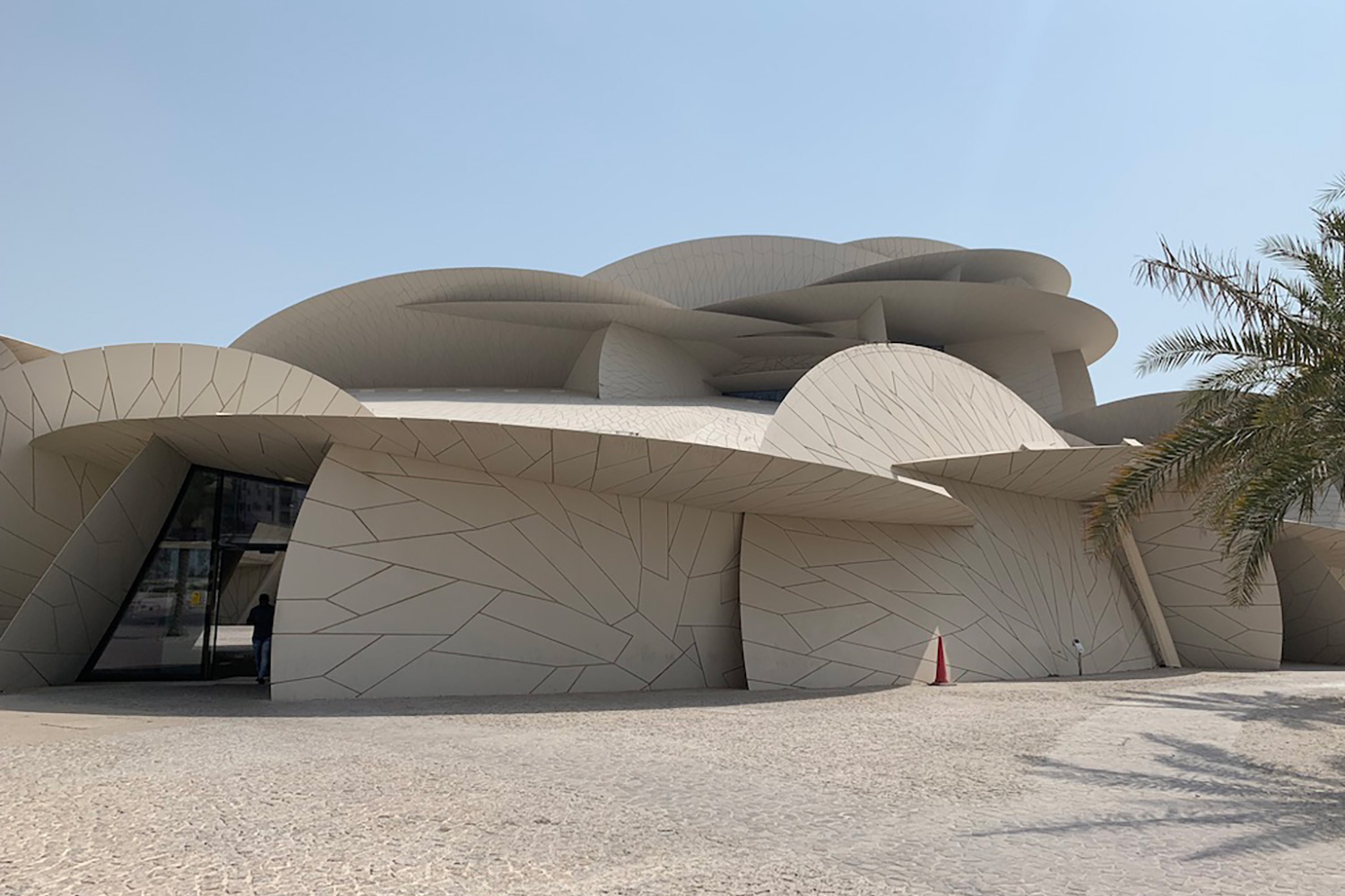 The National Museum of Qatar. WSDG was contracted to create a 3-D acoustic model of the space and make recommendations regarding appropriate speaker usage and placement. Façade 2.