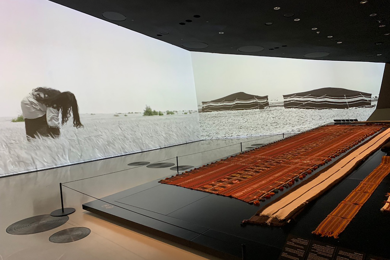 The National Museum of Qatar. WSDG was contracted to create a 3-D acoustic model of the space and make recommendations regarding appropriate speaker usage and placement. Room with high-end AV.