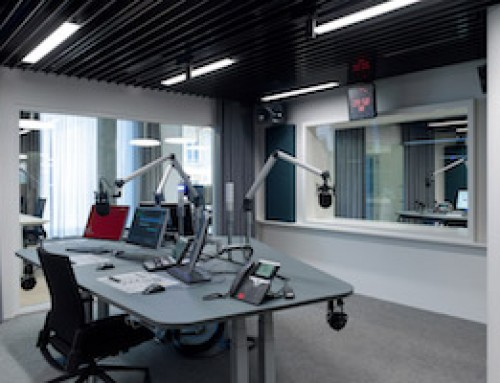 WSDG Delivers Three Floors of Acoustically Perfected Studios for Switzerland's SRF