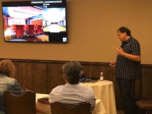 Sergio Molho from WSDG at NanaWall - Acoustics Lecture and Education Program