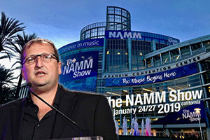 Sergio Molho, WSDG Partner and Director of Business Development, addressing Latin American conference at Winter NAMM 2019 in Anaheim, California on Thursday January 24th.