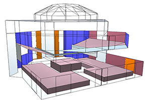 WSDG Services, Room acoustics analysis and surface treatment design
