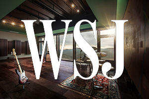 Sonasterio Studios, WSDG, John Storyk featured at The Wall Street Journal in August 2020.