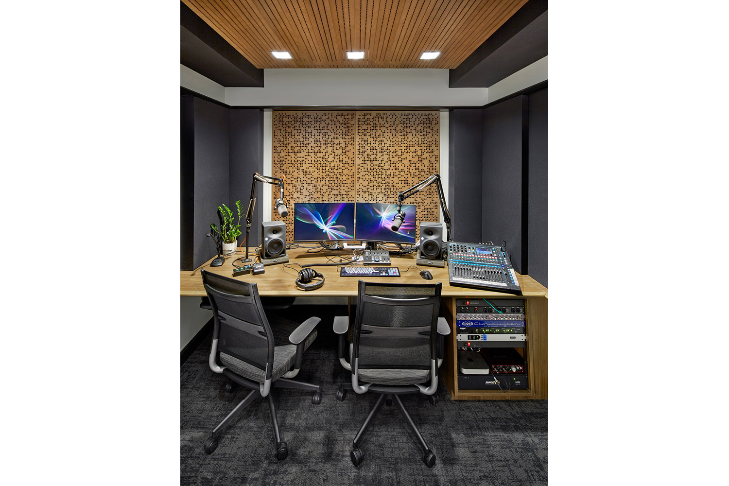 Stitcher is among the earliest, the most creative and most successful podcast creator companies. Their team made a move to build out larger production facilities in both its NY and LA offices and they chose WSDG to design their new podcast studios facilities. Edit B.