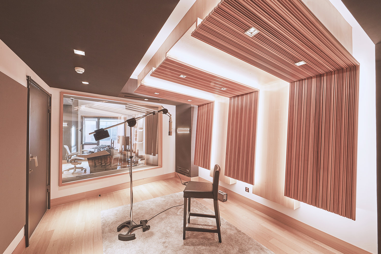 Intrigued by WSDG's reputation in designing the best recording studios in the world, multi-talented recording and mixing engineer TC Zhou started a deep collaboration with our global team for his brand-new Studio 21A facility in Beijing, China. Live Room C.
