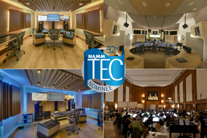 Boston Symphony Orchestra BSO and VSL Synchron Stage are the two WSDG nominated Studios for the 32nd Annual TEC Awards