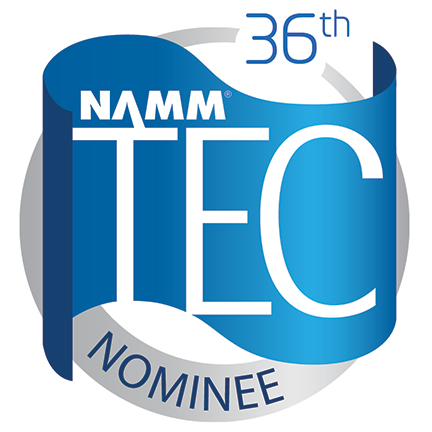 NAMM TEC 36th Logo for Nominees.