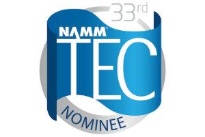 33rd NAMM TEC Award Nominee Logo