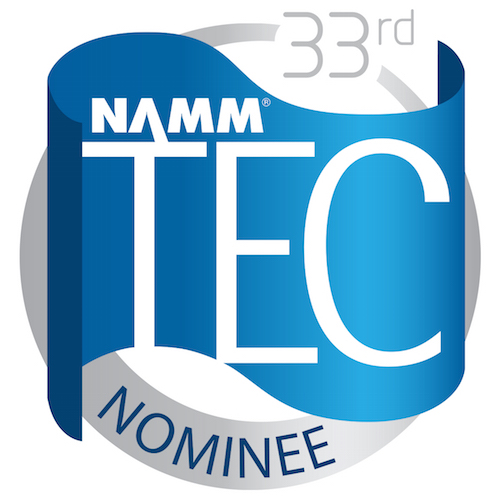 33rd NAMM TEC Award Nominee Logo. Category of Best Studio Design Project.