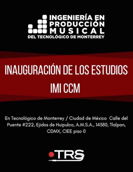 Tecnologico de Monterrey sede Ciudad de Mexico - Inauguración de los nuevos estudios de grabación profesionales. Lecture Sergio Molho & Silvia Molho, WSDG.