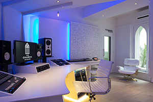 The Church Studios (Paul Epworth) in London, UK - Winner of best TEC Award for best studio design and a landmark for modern recordings, designed by WSDG