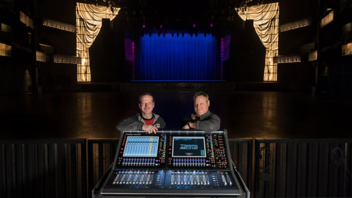 The Anthem, is a game-changing, multi-tiered concert hall created by impresario, Seth Hurwitz. To provide flawless acoustics, the WSDG team was commissioned to take care of the acoustic modeling and simulations. FOH Engineer Chris Rob, and Charm Seth Hurwitz.