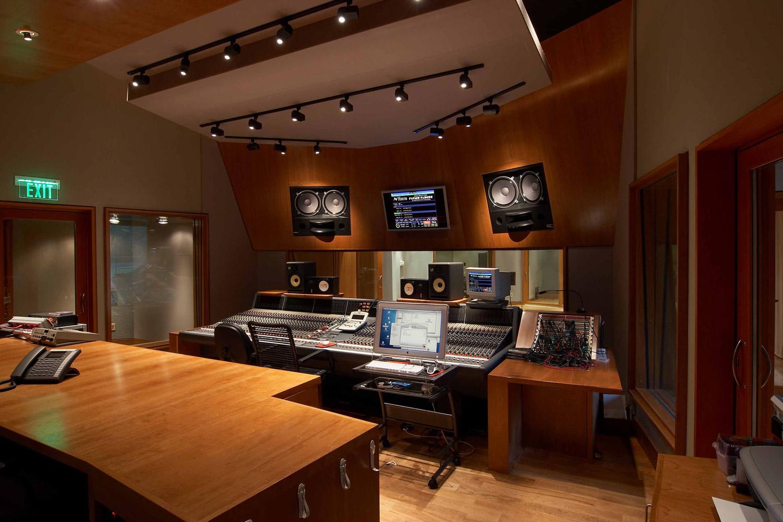 Timbaland studios tim mosley wsdg for Studio house