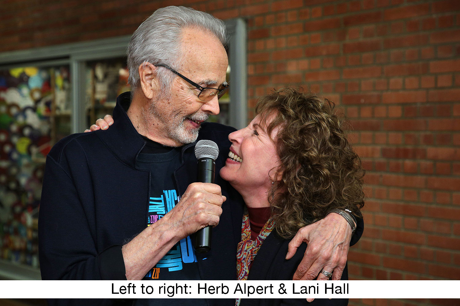 The Herb Alpert Foundation engaged WSDG to design the acoustics for a small on-campus live performance theater at the prestigious UCLA, with help of Lani Hall. Herb Alpert and Lani Hall.